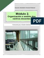 Módulo II. Xestión das propostas institucionais