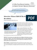 homework 3 19    interview  prison child of the iranian revolution