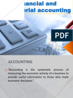 Financial and Managerial Accounting Chapter 1 and 2