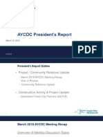 Atlantic Yards CDC President's Report 3-15-19