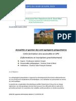 FMC Du Jeudi 18 Avril 2019