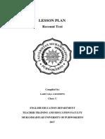 Lesson Plan Kelas IX.docx