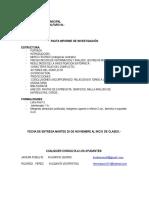Pauta Informe Final Historia Local y Municipal.