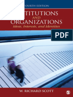 Institutions and Organizations - Ideas, Interests, and Identities.pdf