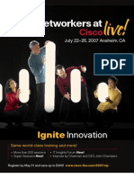 Ciscolive Brochure