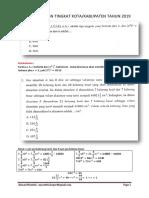 Pembahasa Soal OSK Matematika SMP 2019 [Folderosn.blogspot.com]