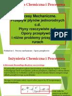 Inżynieria Chemiczna i Procesowa - Mechanika Płynow