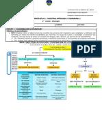 Guía N°1 - Coordinación y regulación - II° medio