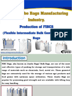 HDPE Jumbo Bags Manufacturing Industry