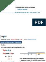 Persamaan Logaritma Presentation