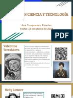 Mujeres en la ciencia y la tecnología