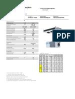 ADB106EA31XX - Tarjeta Tecnica