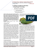 Review of Plant Leaf Disease Detection Using Image Processing