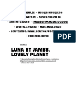 Luna Et James, Lovely Planet - Culture _ Next