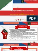 Penguatan Reformasi Birokrasi