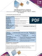 Guía de actividades y Rúbrica de evaluación - Paso 2 – Análisis de conflictos..docx