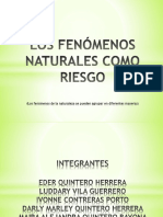 EXPOSICION FENOMENOS NATURALES