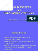 07. Mental Disorder and Related Key Symptoms (Dr.tuti w)