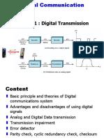 Introduction - Digital Transmission