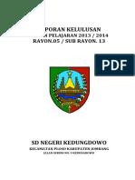 LAPORAN KELULUSAN 2014 SDN KEDUNGDOWO.docx