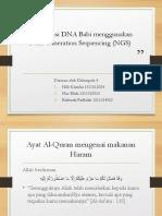 Identifikasi DNA Babi