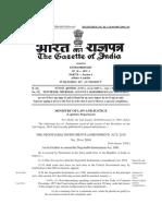 Ammendment Negotiable Instrument Act