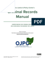 The Ohio Justice & Policy Center's Criminal Records Manual