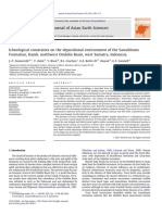 Ichnological Constrains on the Depositional Environment of the Sawahlunto Formation Kandi Northwest Ombilin Basin West Sumatra Indonesia