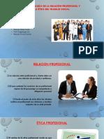 Relacion Profesional y Trabajo Social