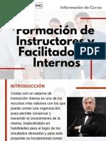 Curso Formación de Instructores y Facilitadores Internos