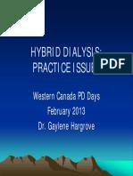 g Hargrove Hybrid Dialysis