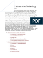 Privacy and Information Technology.docx