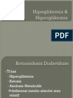 Hipoglikemia & Hiperglikemia