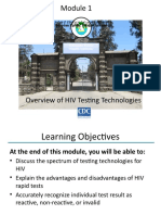Module 1. Overview of HIV testing technology.pptx
