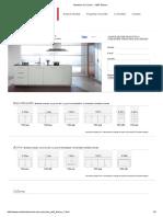 Muebles de Cocina MDF