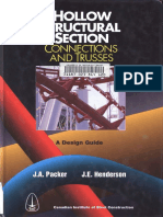 Hollow Structural Sections, Connections and Trusses - Packer & Hendreson - 1997
