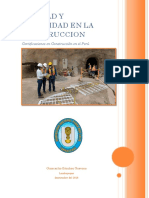 Certificacion en El Peru