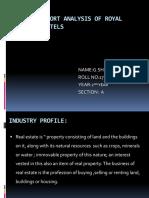 Annual Report Analysis of Squareyards