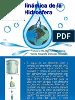 dinámica de la hidrósfera