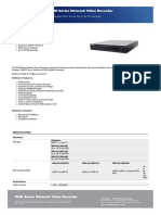 DHN Series Network Video Recorder