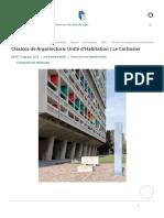 Clásicos de Arquitectura_ Unité d'Habitation _ Le Corbusier _ Plataforma Arquitectura