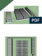 Distribución pacas en almacén