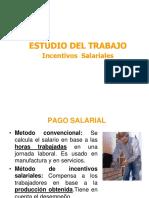 Estudio Del Trabajo - Incentivos
