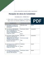 libros contables ejercicios