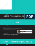 BHA Perforación Horizontal