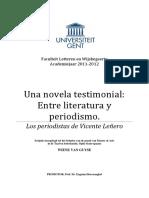 Weine Van Gayuse - Entre periodismo y literatura Los periodistas Leñero.pdf