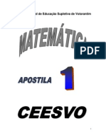 Matemática - CEESVO - apostila1