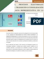 EL SALVADOR, PROCESOS ELECTORALES PRESIDENCIALES