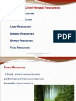 Lecture 8 - Forest, Water, Mineral Resource