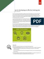 Adobe DC ESign Best Practices Training Plan